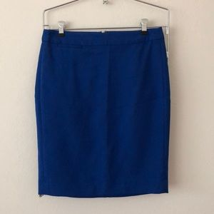Royal Blue Gap Pencil Skirt